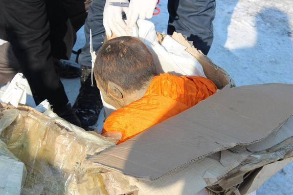 нетленное тело монаха